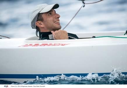 Para World Sailing Championship 2021, Antonio Squizzato è vice campione iridato 2.4mR