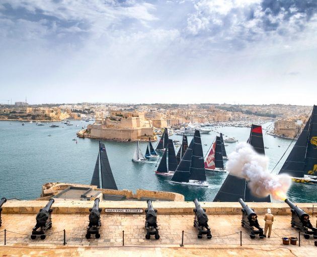 Rolex Middle Sea Race, and they are off